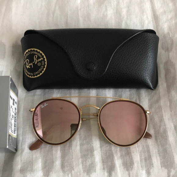 0ef4dfaca59 Ray-Ban Accessories - Ray Ban Round Metal Sunglasses RB3647N